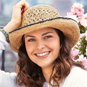 ✨NEW✨Betmar Lupita Raffia Straw Boho Sun Hat